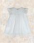 vestido especial plumeti blanco